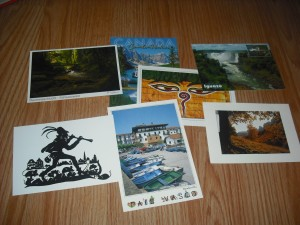 Postales de intercambio