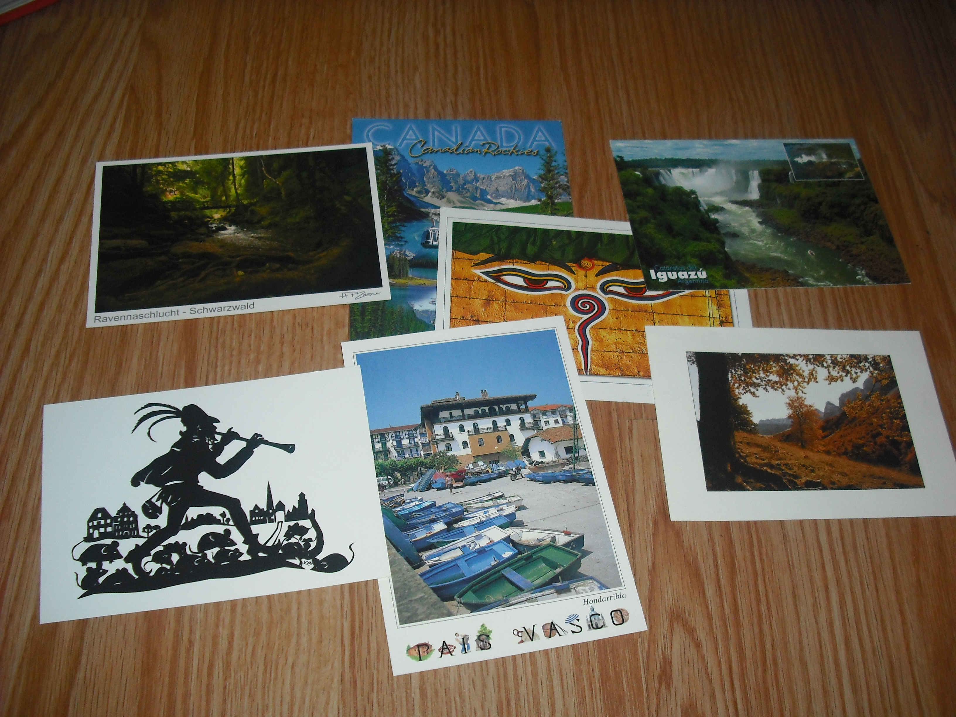 Intercambiar postales con todo el mundo