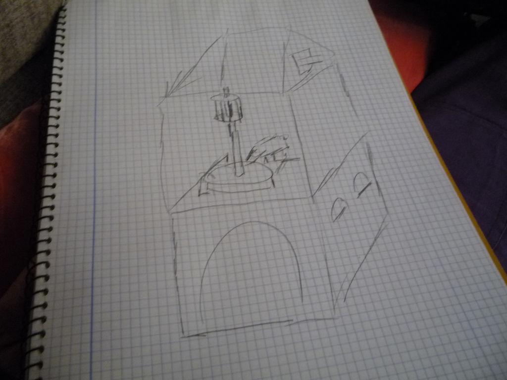 Plano del interior del molino