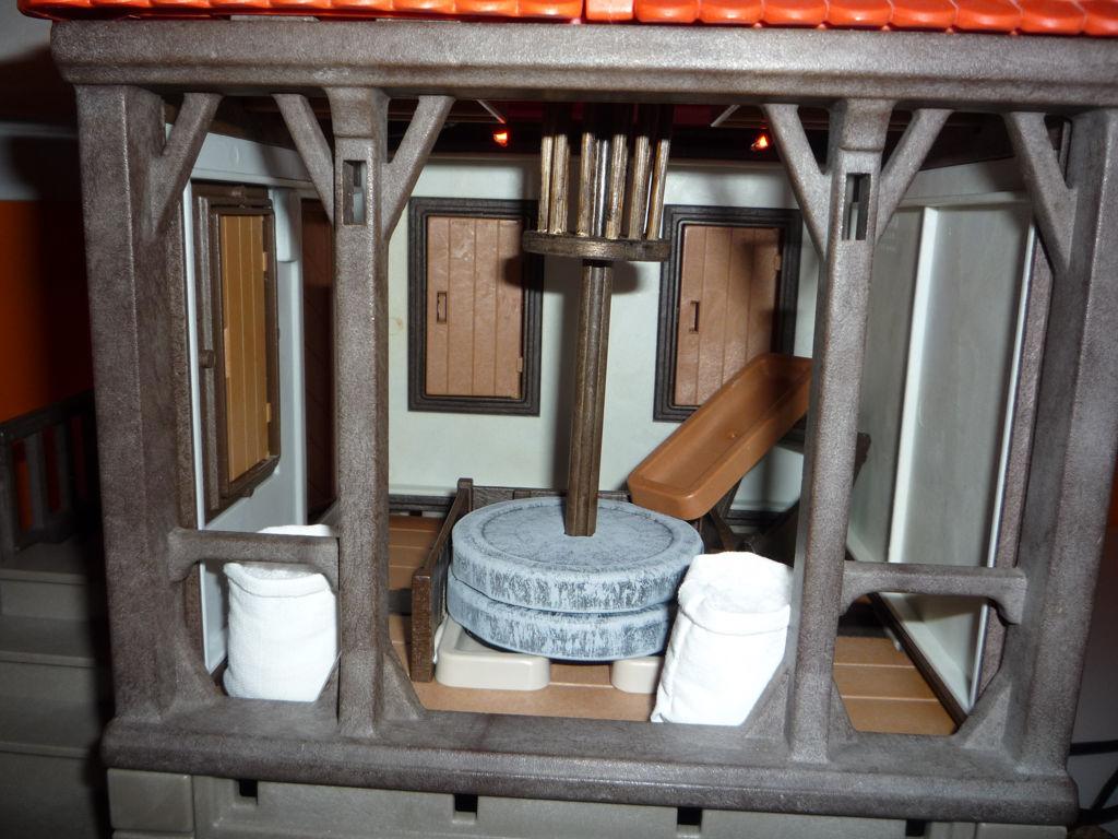 Interior del molino completo