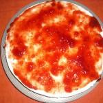 Tarta de queso con fresa