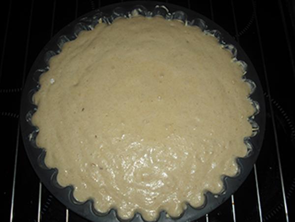 Sin hornear tarta de Santiago